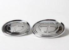 Badges bleus noirs, 82mm, 74mm, 20 pièces, emblèmes avant/arrière pour capot, logo de coffre