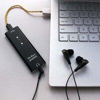 ES9038Q2M Headphone Amplified HiFi Audio USB DAC Decoder SA9227 type c portable Computer External Sound Card DSD25