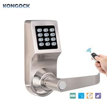 цена на Electronic bluetooth remote control digital code door Lock, keyless RFID card access electril smart lock reversible handle lock