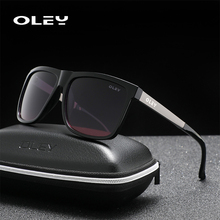 OLEY Brand New Design Sunglasses Men Polarized Eyewear Acces