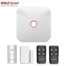 Система видеонаблюдения wolf guard 24 ГГц wi fi 433 МГц