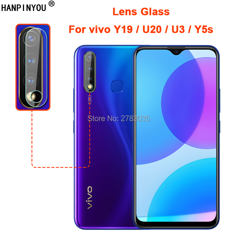 For Vivo Y19 / U20 / U3 / Y5s Clear Ultra Slim Back Camera Lens Protector Rear Camera Len Cover Tempered Glass Protection Film