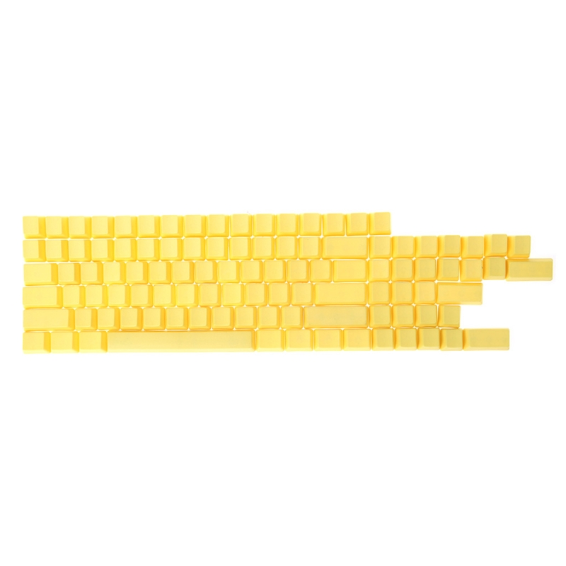 Blank 104 ANSI ISO Layout Thick PBT Keycap For OEM Switches Mechanical Keyboard LX9A