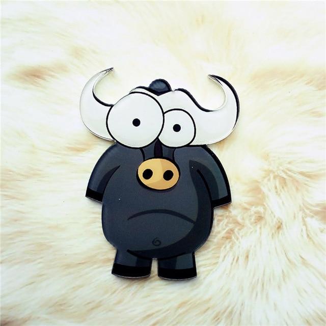 1PC High Quality Cartoon Animal Fridge Magnets Whiteboard Sticker Cute Acrylic Popular Animal Home Decoration 6