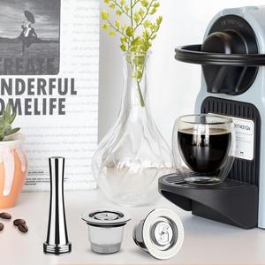 Capsule Refillable Nespresso Inox Vip Icafilas Link for Crema
