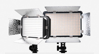 Godox LED308C II LED 3300K 5600K Video Studio Light for Cameras & Camcorders +Reflector And Filter+Power Adapter