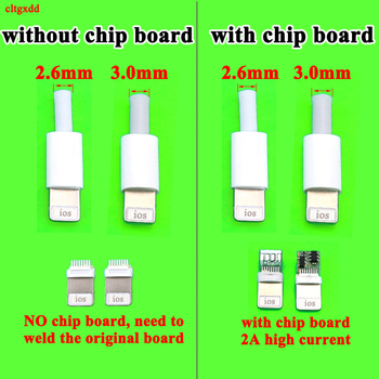 4PCS/LOT Lightning Dock USB Plug with chip board or not Male connector welding Data OTG line interface DIY data cable For iphone - discount item  20% OFF Electrical Equipment & Supplies