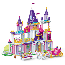 GUDI Princess Series Castle Party Building Blocks Sets Bricks Classic Kids Girl Gifts Model Legoingly Toys Compatible Friend