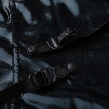 Exotic Black Leather Bodysuit  3