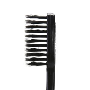Image 5 - 4/5Pcs Bamboe Houtskool Tandenborstel Oral Care Antibacteriële Tandenborstel Met Zwarte Koppen Ultra Fijne Zachte Tandenborstel Voor volwassen