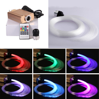 Free shipping Car roof 12v 16w ceiling starry star fiber optic light for car ceiling decoration