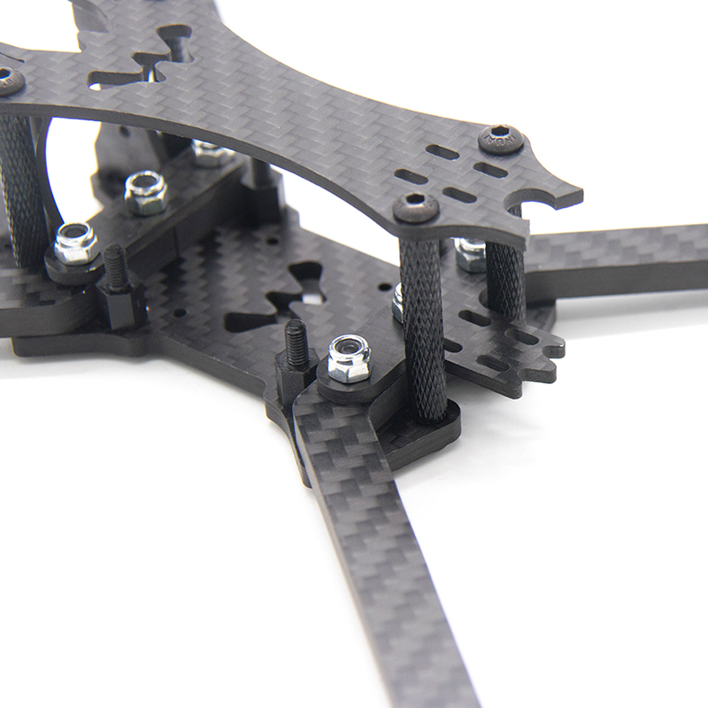 Image 5 - TCMMRC 5 inch Drone Frame Black Bat 220 fpv frame 5mm Arm Carbon Fiber for FPV Racing Drone Frame Kit-in Parts & Accessories from Toys & Hobbies