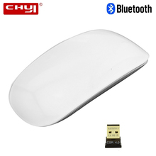 CHYI Bluetooth Wireless Arc Touch Magic Computer Mouse Ergonomic Portable Slim Mause PC Gamer Mice For Macbook Microsoft Laptop