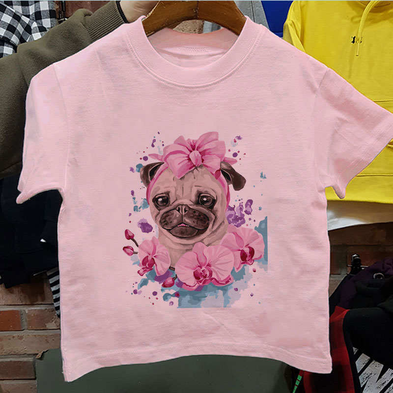 Ion Girls T-Shirt Logo Crystal Blue