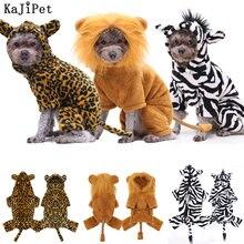 Преобразования одежда с принтом в виде собак Хэллоуин зимняя