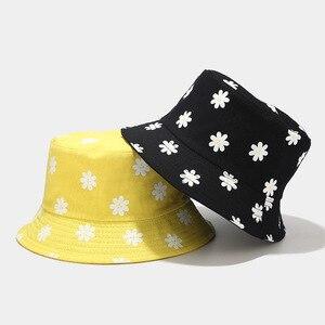 Chapeau Bob à fleurs réversible à deux côtés | Chapeau imprimé, casquette Hip Hop Gorros, casquettes d'été pour hommes femmes, chapeau Panama de plage, pêche au soleil, 2020