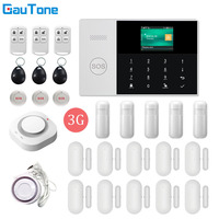 GauTone WIFI+3G GPRS Wireless Home/Office Building/Factory Fireproof&Burglar Security Alarm System APP Remote Control