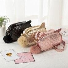 Baby Girls Fashion Shoulder Bag Cute Storage Single  Childrens Bags Crossbody Mini Small Square