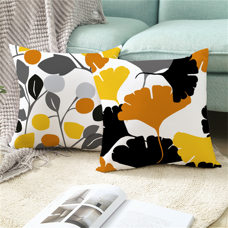 Fuwatacchi  Geometric Striped Pattern Cushion Cover Lines Polyester Throw Pillow Covers Decoration For Home Sofa Pillowcases