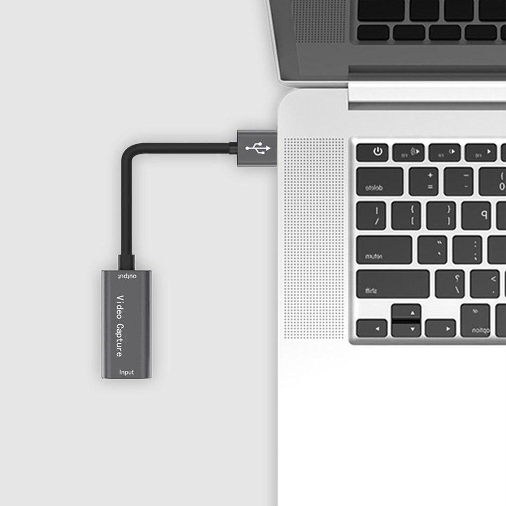 USB 3.0 Video Capture Card 1080P 60fps 4K HDMI-compatible Video Grabber Box For Macbook PS4 Game Camera Recorder 4