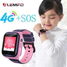 Смарт-часы детские с SIM-картой G4H, 4G, GPS, LBS 2020