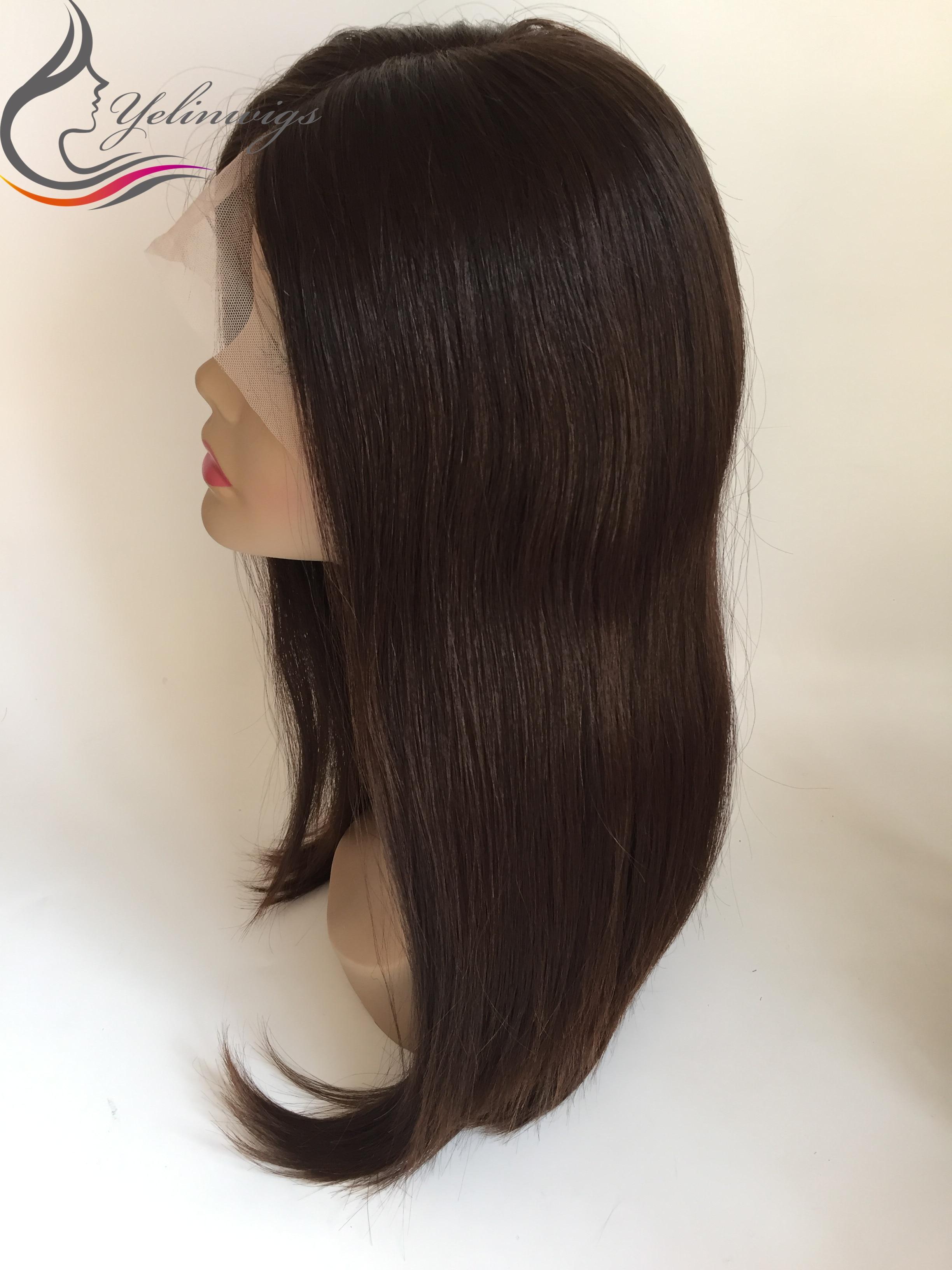100% European Virgin Hair Lace Top Jewish Wig Kosher Wig High Quality European Hair Wig 22