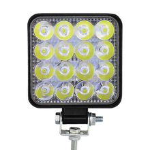 Newest 27W 42W LED Work Light Flood Beam Fog Lamps High Brightness for Car Off-Road Driving