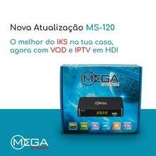 Receptor digital satélite duosat receptor ms120 DVB-S2 suporte cccam newcam biss chave iks livre vod wifi para américa latina brasil