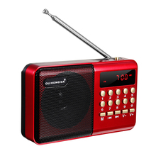 BIG SALE Radio Wireless Speakers Portable FM Radio Music Player Digital Mini Radio Multifunctional FM Sound Recorder Insert Card