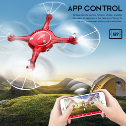 SYMA X5UW RC Quadcopters Drones WiFi FPV Control HD CAM 2.4G 4CH 6-Axis-Gyro RC Quadcopter Air Press Height Hold Helicopter Toys