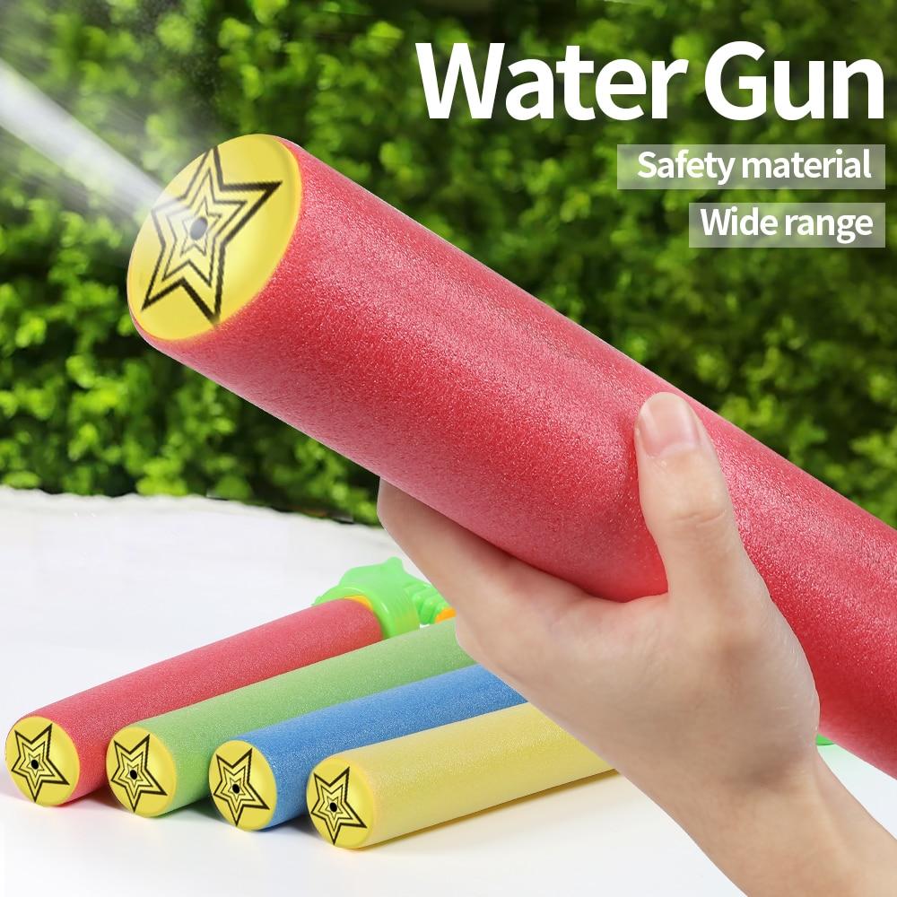 EVA Water Gun Water Pistol Blaster Shooter Summer Pool Toys Outdoor Bathroom Toys For Children