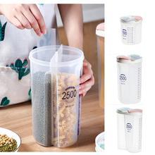 Рис бобы Stoarge банку с печатью для Ipad 2/3/4 без рукавов в клеточку холодильник Еда сохранение контейнер Пластик Кухня ящик для хранения