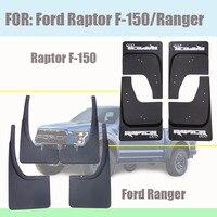 Para ford raptor F-150 guarda-lamas captador guarda-lamas respingo mud-flaps acessórios pára-choques do carro lama guardas frente traseira 2007-2020