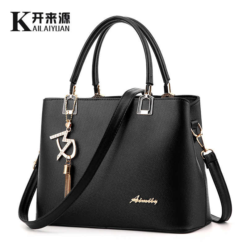 100% Genuine leather Women handbags 2019 new handbag bag ladies fashion handbag Crossbody Bag explosion Shoulder Handbag