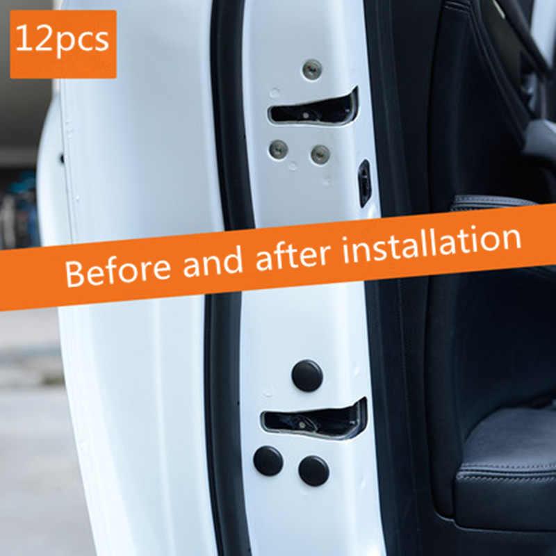 12pc車のドアロックネジプロテクターカバー自動車の付属品lada prioraのためのセダンスポーツカリーナグランタベスタx-レイxray
