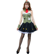 Speciale Japan Sexy Stewardess Dienen Cosplay Spel Uniform Cosplay Air Ride Service Carnaval Kostuum Vrouwen Stadium Jurk(China)