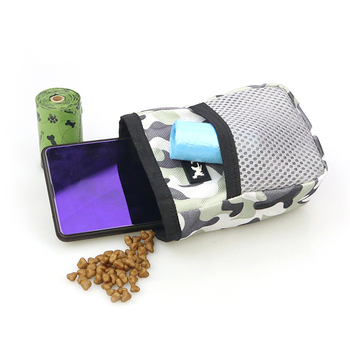 Outdoor Portable Training Dog Snack Bag Pet Supplies Strong Wear Resistance Large Capacity Puppy Products Waist Bag Durable 2