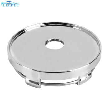 Car-styling Car Wheel Cover 60mm Auto Hubcaps Cover Tire Accessories Silver No Logo ABS Chrome Dust Cover Wheel Center Cap image