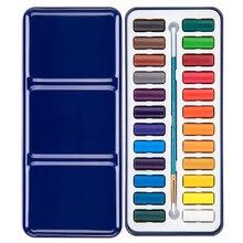 24 Colors Diyportable  Kits Wooden Peg Doll Paint Pen For Children Developmental Watercolour Paints Drawing Tools Art Supplies