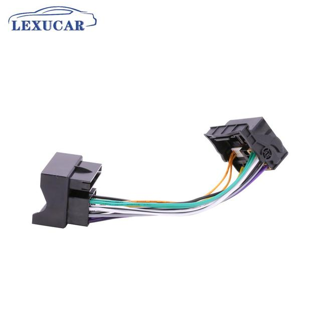 LEXUCAR PQ TO MQB  Radio ISO Upgrade Adapter RCD330 RCD330G PLUS FOR VW 2003 To VW 2015