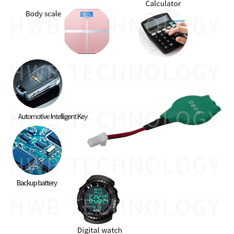 1 Chiếc ML1220 Ml Sạc 1220 3V CMOS RTC Pin W/Cáp Bios Dự Phòng Miễn Phí Vận Chuyển