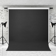 VinylBDS 8x8ft Black Solid Color Photography Backdrop Abstract Backgrounds For Photo Studio Portraits Custom Camera Fotografica