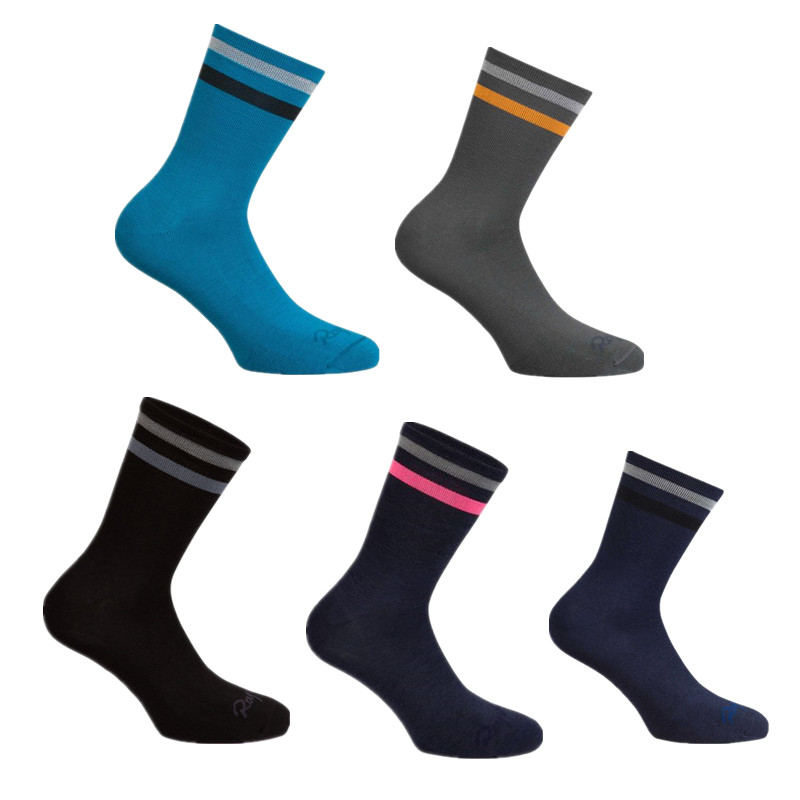 Sports Outdoor Rapha Road Cycling Socks Profession Competition Stripe Bike Socks Calcetines Ciclismo