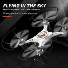 Hot Mini 2.4g 4ch Uav Rc Quadcopter Drone Ufo Rc Helicopter Gyro Headless Mode Remote Control Toys Drone Children's Gift Toys(China)