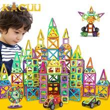 151 шт. большой размер Магнитный конструктор Набор для строительства модель и магнит игрушка треугольник квадратный конструктор пластиковый подарок для мальчиков и девочек