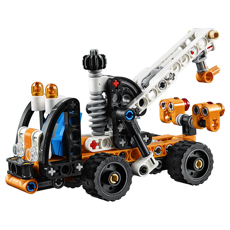 2019 New Products <font><b>LEGO</b></font> Building Blocks <font><b>Lego</b></font> Science And Technology Machinery Group <font><b>42088</b></font> Cherry Picker Boy Assembled Toys image