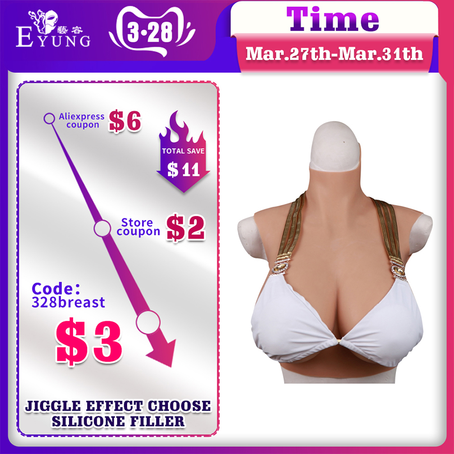 Beauty & Health Care 80C Silicone Breasts Forms For Crossdresser Drag Queen Tits Shemale Transgender Breastplate 80C Fake Boobs