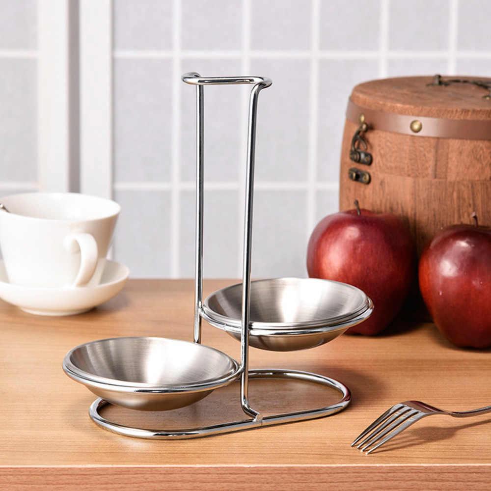 E-HONER Soporte de Cuchara de Acero Inoxidable Soporte de Asiento Vertical Soporte de Almacenamiento Rack Utensilios de Cocina Organizador Accesorios de Cocina Herramientas de Cocina
