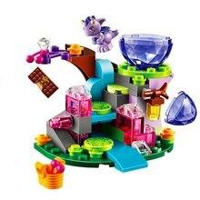 Lepinblocks 10499 83 pçs fada emily jones & o vento do bebê dragão blocos de construção conjunto brinquedos caber elfos lepinings meninas