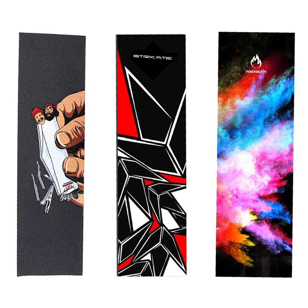 Professional Skateboard Deck Sandpaper Grip Tape For Skating Board Longboarding 82*23cm Dancing Board DIY Board